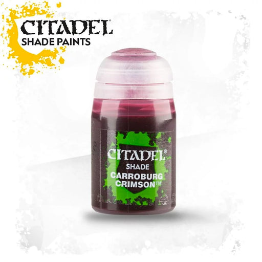 Citadel Paint: Shade - Carroburg Crimson (24 ml)-LVLUP GAMES