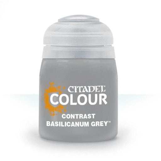 Citadel Paint: Contrast - Basilicanum Grey (18 mL)-LVLUP GAMES