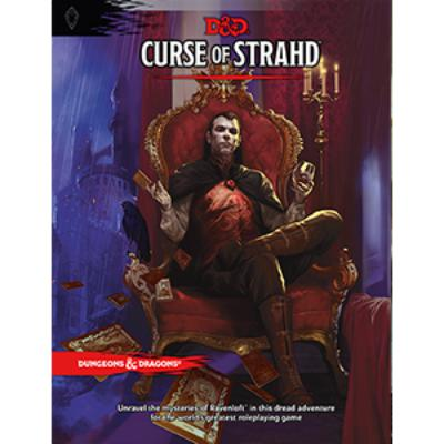 D&D (5th Edition) Curse of Strahd Hardcover RPG Book-LVLUP GAMES