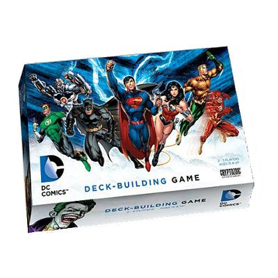 DC Comics Deck-Building Game-LVLUP GAMES