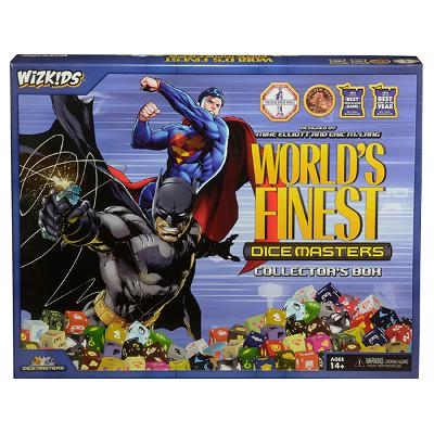 DC Dice Masters: World's Finest Collector's Box-LVLUP GAMES