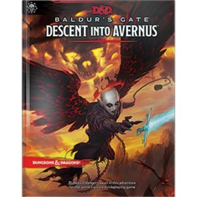 D&D (5th Edition) Baldur's Gate: Descent into Avernus Hardcover RPG Book-LVLUP GAMES