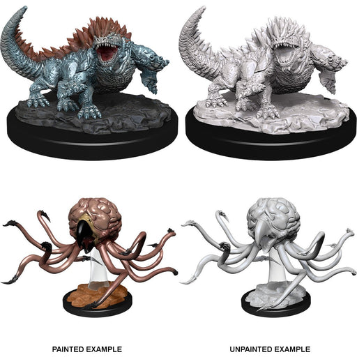 D&D Nolzur's Marvelous Miniatures:  Grell And Basilisk -LVLUP GAMES