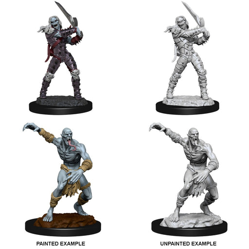 D&D Nolzur's Marvelous Miniatures:  Wight And Ghast -LVLUP GAMES