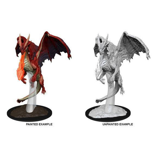 D&D Nolzur's Marvelous Miniatures:  Young Red Dragon -LVLUP GAMES