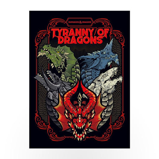 D&D (5th Edition) Tyranny of Dragons Hardcover RPG Book-LVLUP GAMES