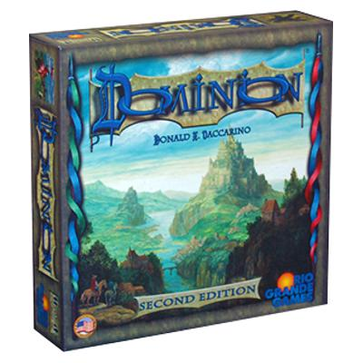 Dominion (2nd Edition)-LVLUP GAMES