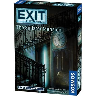 EXIT: The Sinister Mansion-LVLUP GAMES