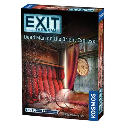 EXIT: Dead Man on the Orient Express-LVLUP GAMES