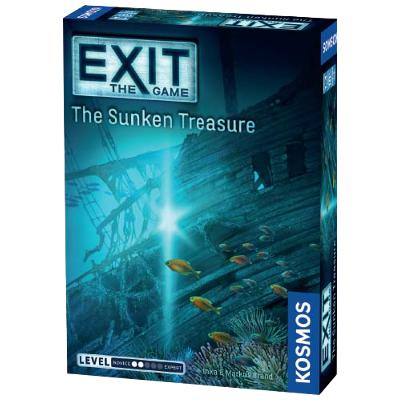 EXIT: The Sunken Treasure-LVLUP GAMES