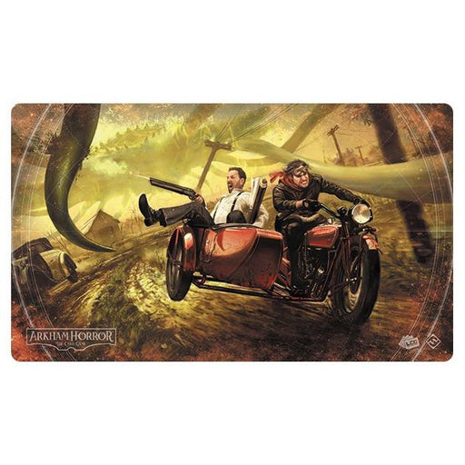 Arkham Horror LCG: Narrow Escape Playmat-LVLUP GAMES