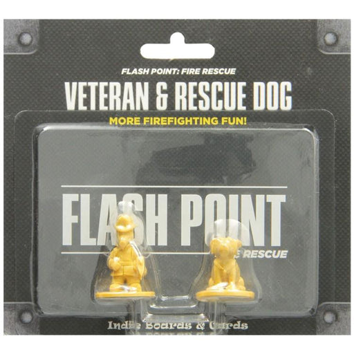 Flash Point: Veteran & Rescue Dog Accessories Pack-LVLUP GAMES