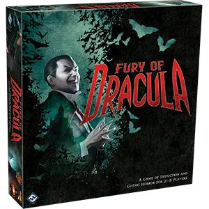Fury of Dracula (4th Edition)-LVLUP GAMES