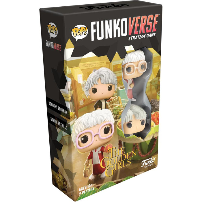 PRE-ORDER | Funkoverse Strategy Game: Golden Girls - 2-Pack Expandalone 2