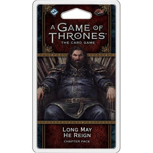 A Game of Thrones LCG (Second Edition): Long May He Reign-LVLUP GAMES