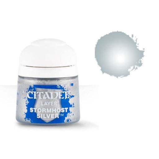 Citadel Paint: Layer - Stormhost Silver (12ml)-LVLUP GAMES