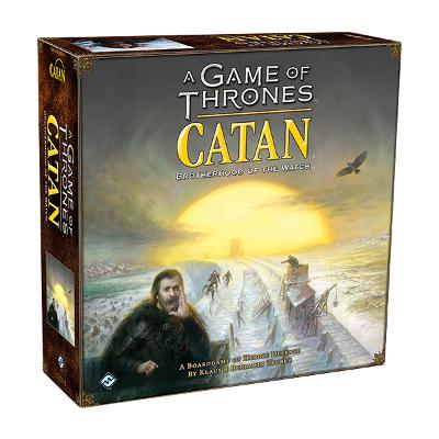 A Game of Thrones - Catan: Brotherhood of the Watch-LVLUP GAMES