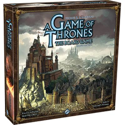 A Game of Thrones: The Board Game (Second Edition)-LVLUP GAMES