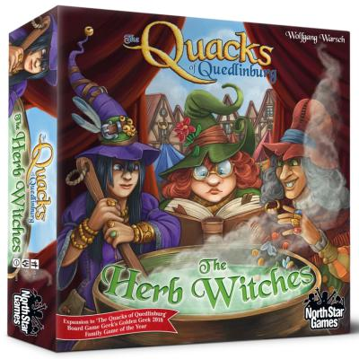 Quacks of Quedlinburg: The Herb Witches-LVLUP GAMES