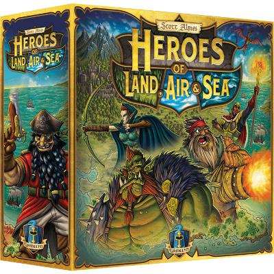 Heroes of Land, Air & Sea-LVLUP GAMES