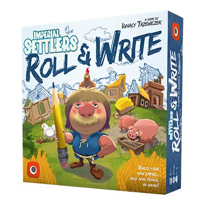Imperial Settlers: Roll & Write-LVLUP GAMES