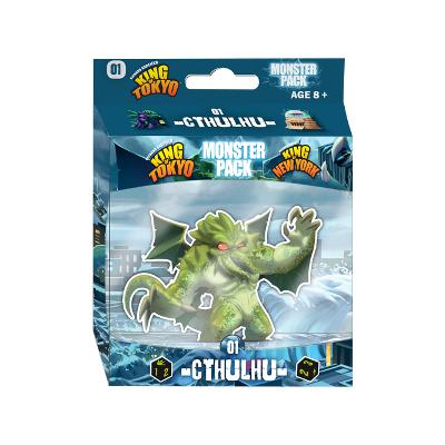King of Tokyo/New York: Monster Pack - Cthulhu-LVLUP GAMES