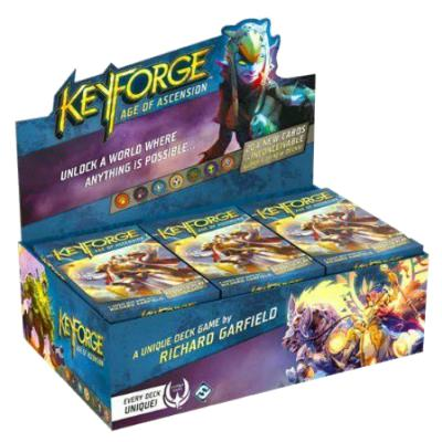 KeyForge: Age of Ascension - Booster Box, 12 Decks-LVLUP GAMES