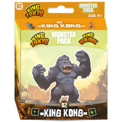 King of Tokyo/New York: Monster Pack - King Kong-LVLUP GAMES