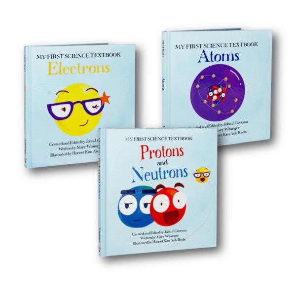 My First Science Textbook | 3 Book Set-LVLUP GAMES