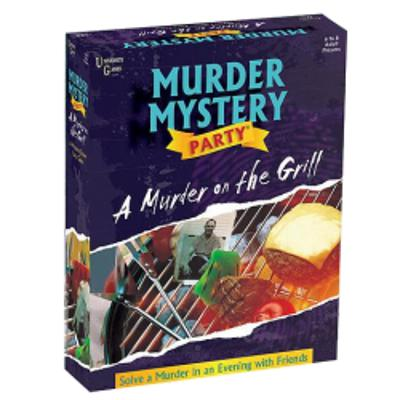 Murder Mystery Party - A Murder on the Grill-LVLUP GAMES