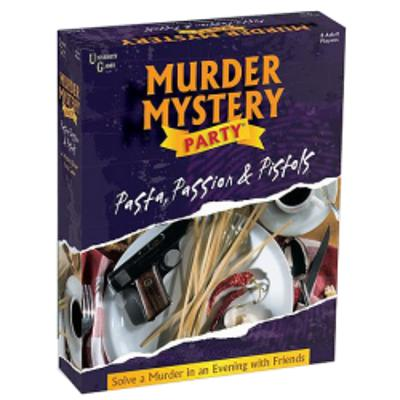 Murder Mystery Party - Pasta, Passion and Pistols-LVLUP GAMES