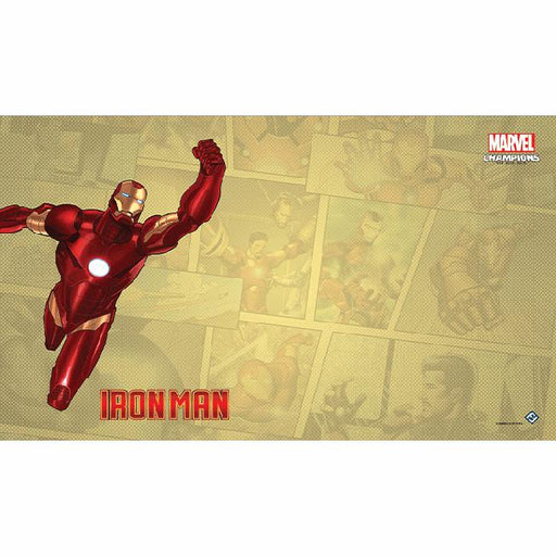 Marvel Champions LCG: Iron Man Game Mat-LVLUP GAMES