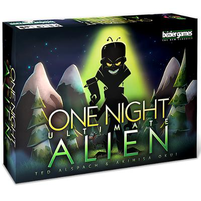 One Night Ultimate Alien-LVLUP GAMES