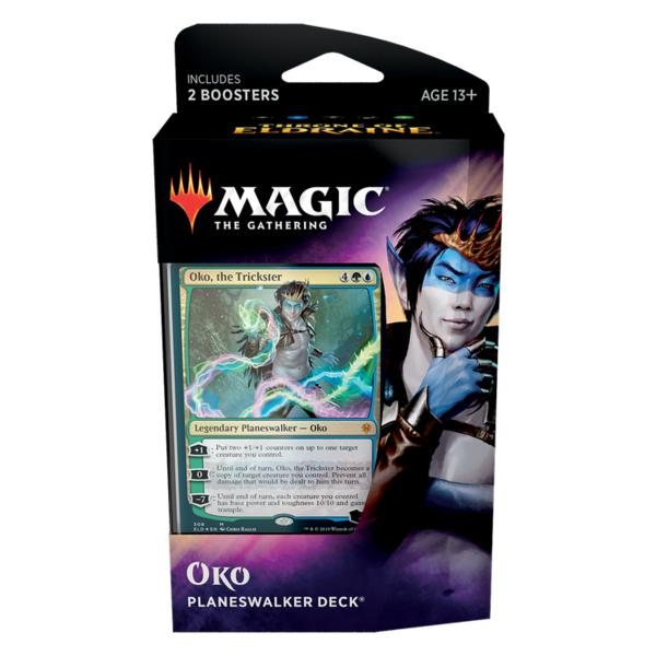 Magic the Gathering: The Throne of Eldraine Planeswalker Deck-Oko-LVLUP GAMES
