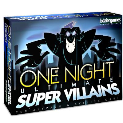 One Night Ultimate Super Villains-LVLUP GAMES