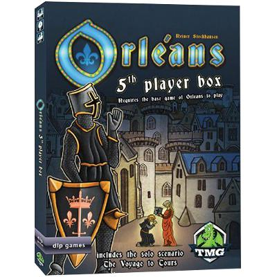 Orleans: 5th Player Box-LVLUP GAMES