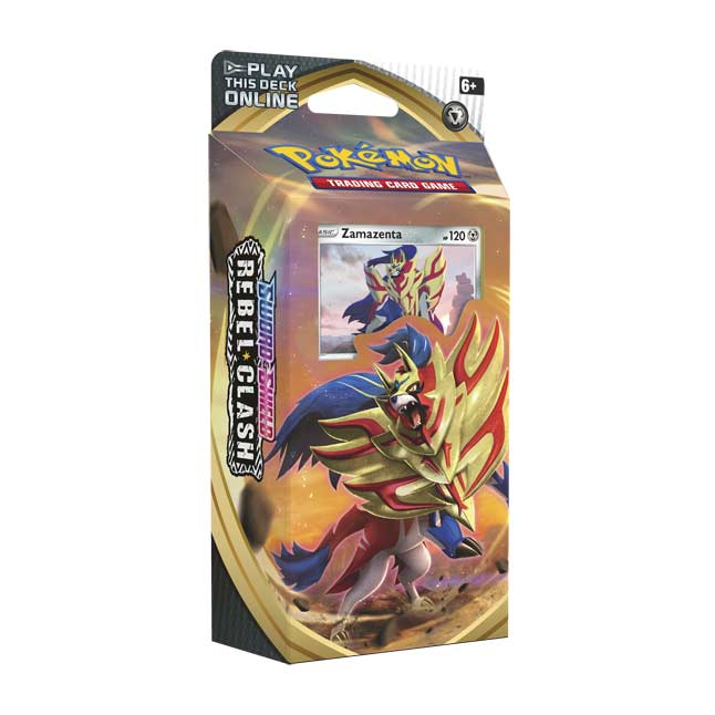 Pokemon: Sword & Shield - Rebel Clash Theme Deck