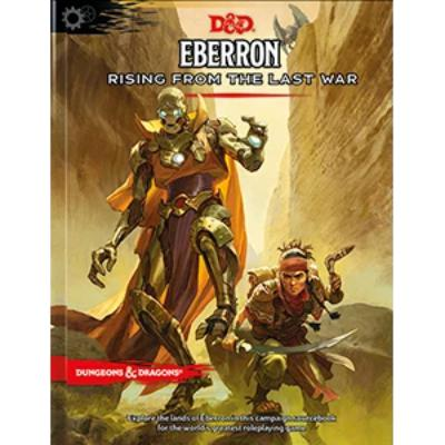D&D (5th Edition) Eberron: Rising From the Last War Hardcover RPG Book-Original-LVLUP GAMES