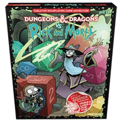Dungeons & Dragons VS Rick and Morty Set-LVLUP GAMES