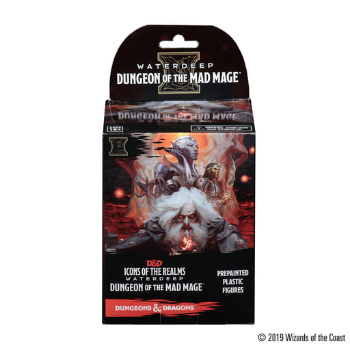 D&D Icons of the Realm: Waterdeep - Dungeon of the Mad Mage-Booster Box-LVLUP GAMES