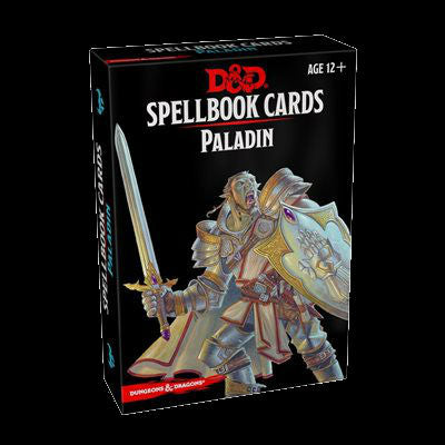 D&D Spellbook Cards-Paladin-LVLUP GAMES