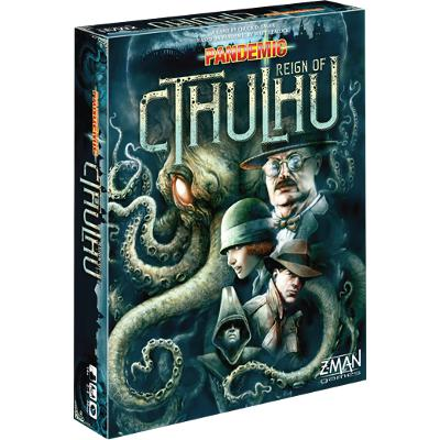 Pandemic: Reign of Cthulhu-LVLUP GAMES