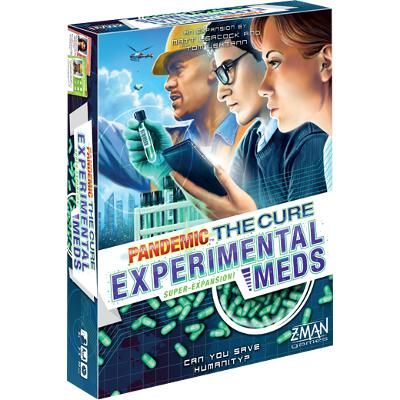 Pandemic: The Cure - Experimental Meds-LVLUP GAMES