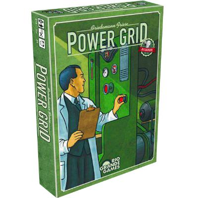Power Grid: Recharged-LVLUP GAMES