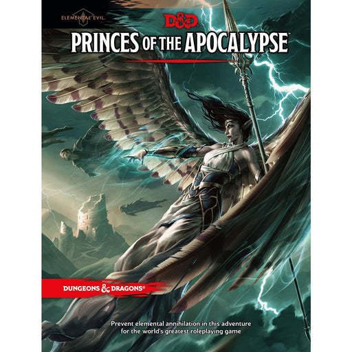 D&D (5th Edition) Elemental Evil: Princes of the Apocalypse Hardcover RPG Book-LVLUP GAMES