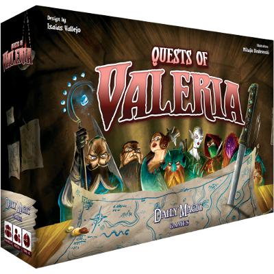 Quests of Valeria-LVLUP GAMES