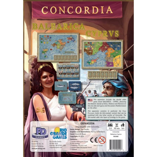 Concordia: Balearica Cyprus-LVLUP GAMES