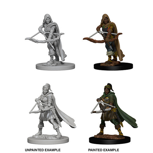 D&D Nolzur's Marvelous Miniatures:  Human Female Ranger -LVLUP GAMES