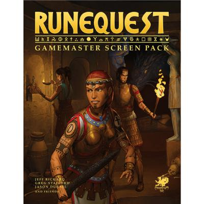 RuneQuest: Gamemaster Screen Pack-LVLUP GAMES