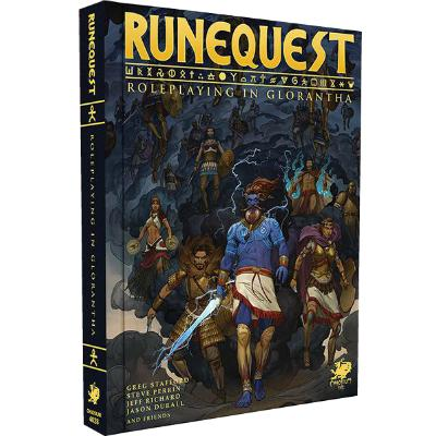 RuneQuest: Roleplaying in Glorantha-LVLUP GAMES